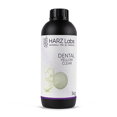 Hazrlabs dental yellow clear